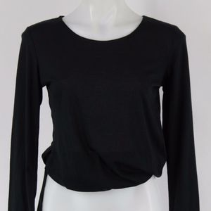 Ellie Black Long Sleeve Top Size XS